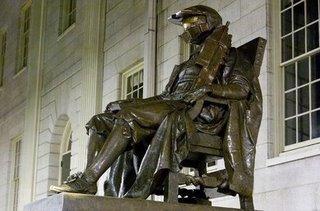 Estatua de Master Chief...